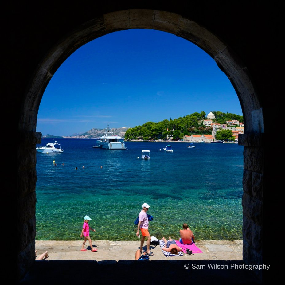 Cavtat and the old City of Dubrovnik in Croatia 11