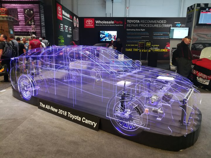 2017 SEMA and AAPEX Show: Las Vegas Convention Center and Sands Convention Center, Las Vegas, Nevada 55