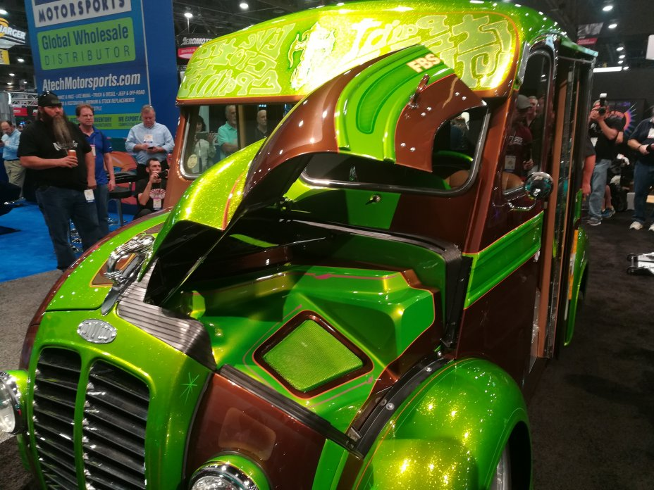 2017 SEMA and AAPEX Show: Las Vegas Convention Center and Sands Convention Center, Las Vegas, Nevada 58