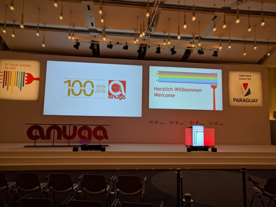 ANUGA 2019: Celebrating 100 years of ANUGA on the pulse of time and the Taste of PARAGUAY (Biennial Fair, Koelnmesse) 3