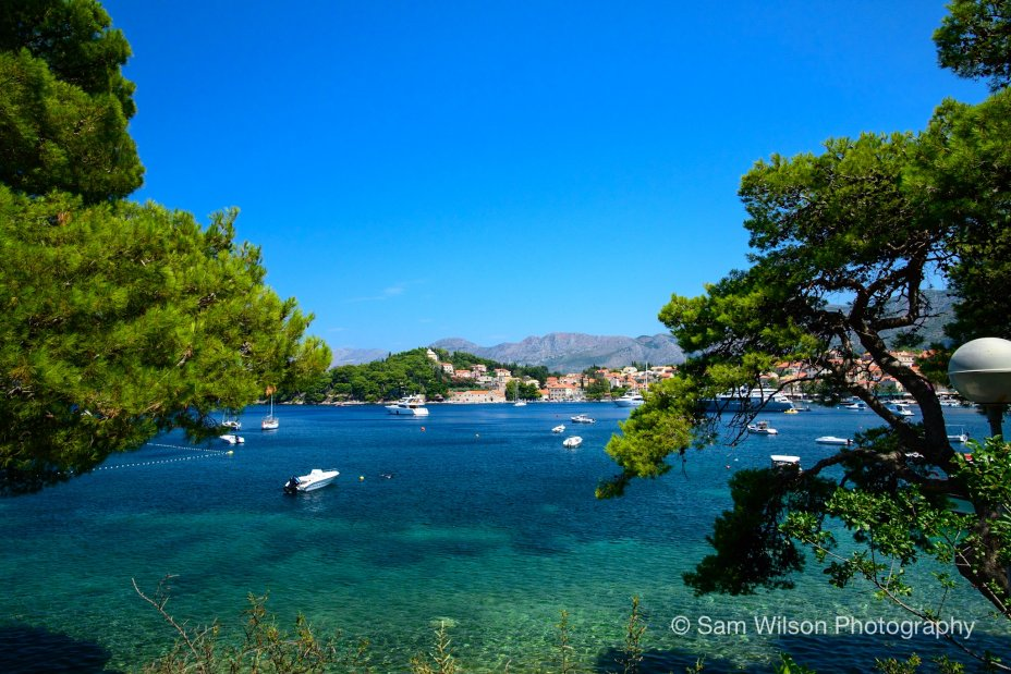 Cavtat and the old City of Dubrovnik in Croatia 1
