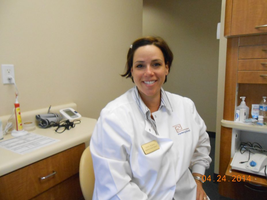 a Dental Hygienist with a smile