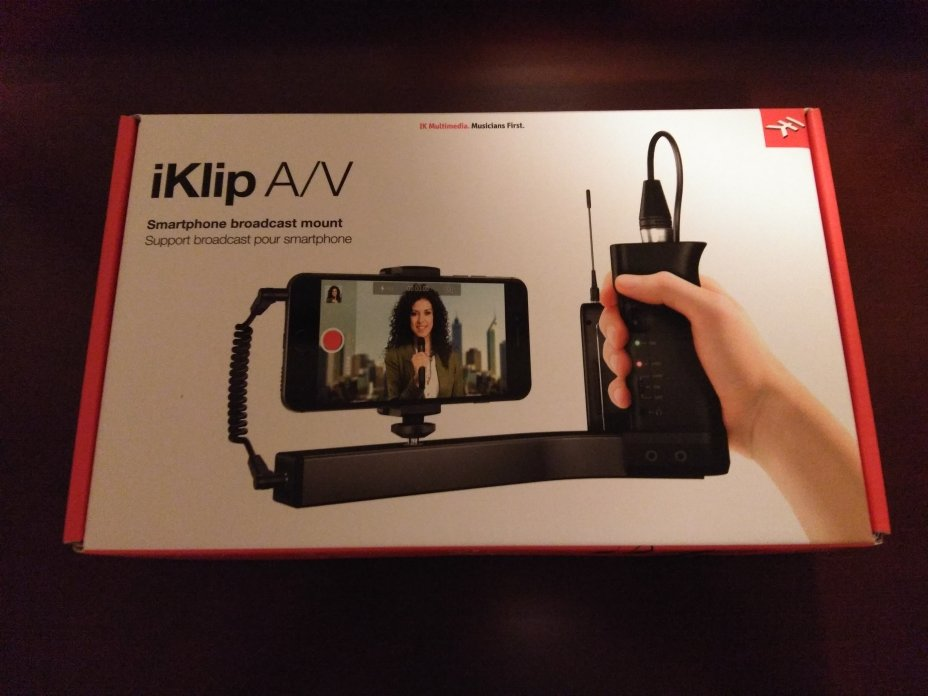 2017 Product Review: IK Multimedia's iKlip AV (Launched during the 2016 International CES in Las Vegas, Nevada) 1