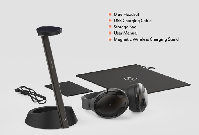 SENJI Mu6 Smart Noise-canceling headphones: Preliminary Product Review and 2018 Indiegogo Early Bird Promotion (until 12/7/18) 4