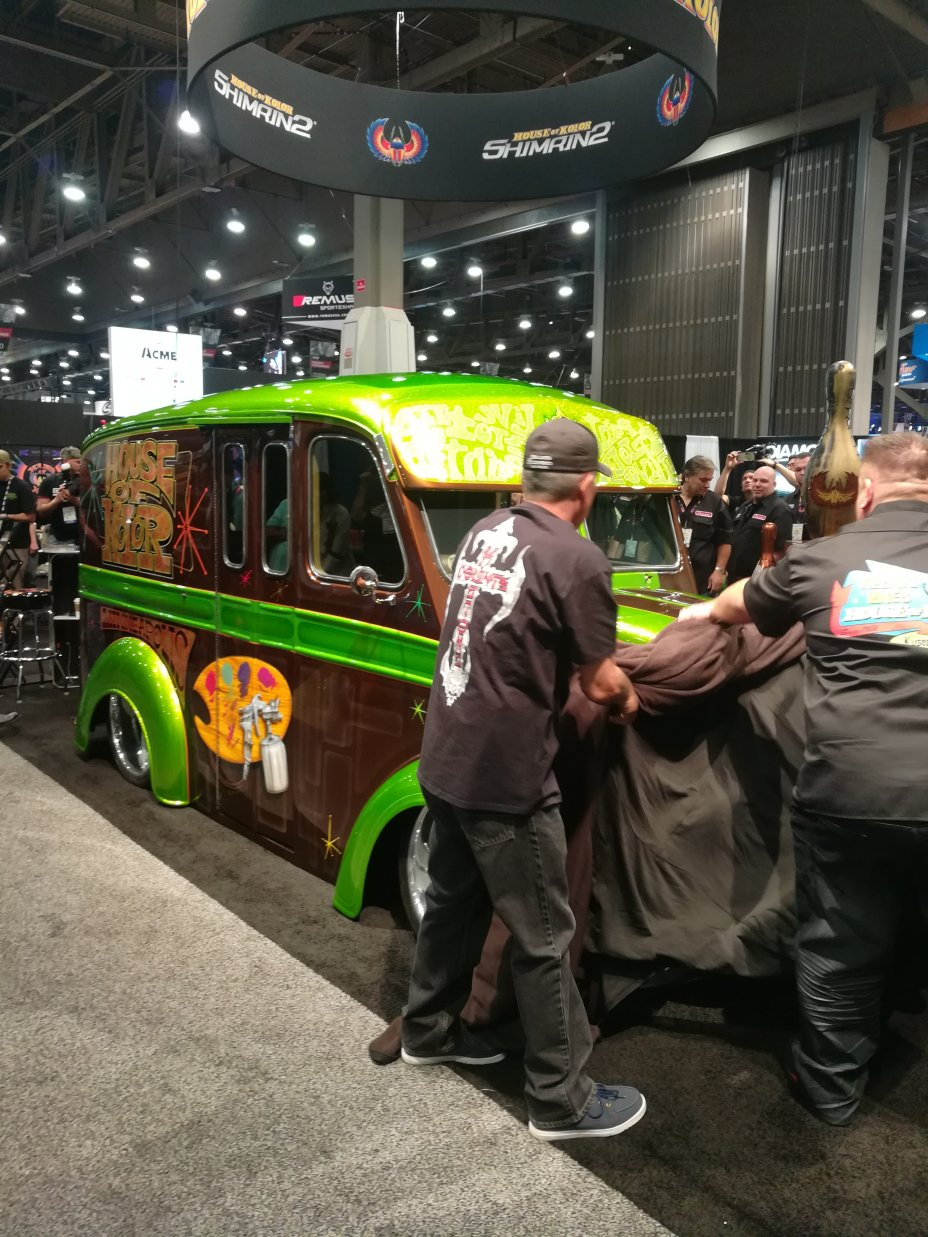 2017 SEMA and AAPEX Show: Las Vegas Convention Center and Sands Convention Center, Las Vegas, Nevada 60