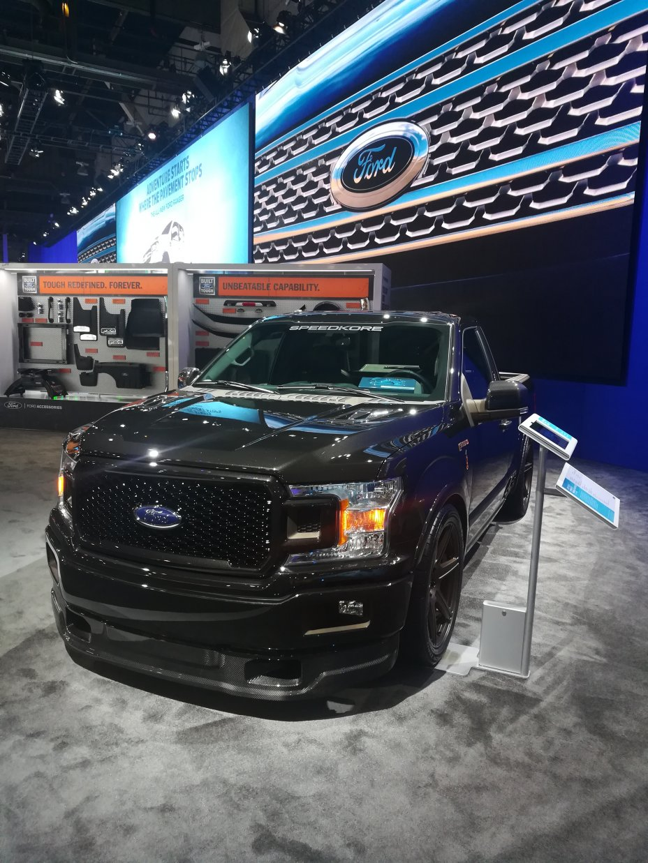 2018 SEMA and AAPEX Show: Las Vegas Convention Center and Sands Convention Center, Las Vegas, NV, HIghlitghts, Concept Cars.  17