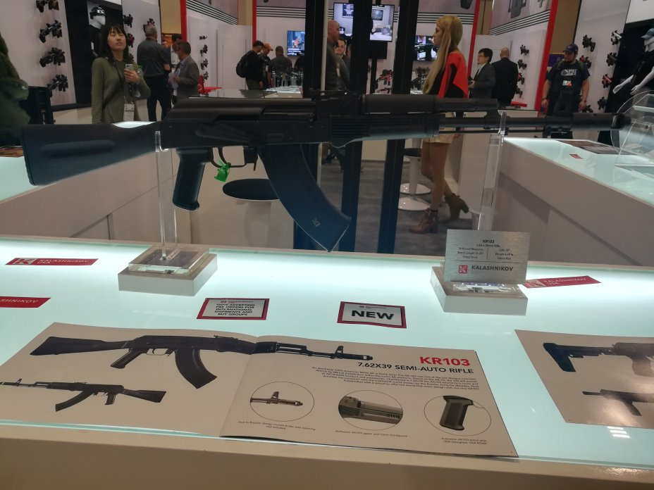 Shot Show 2020: New Guns for 2020 introduced at the NSSF Shot Show, Sands Convention Center, Las Vegas, Nevada 19
